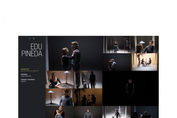 Web del fotógrafo Eduard Pineda. www.edupineda.com