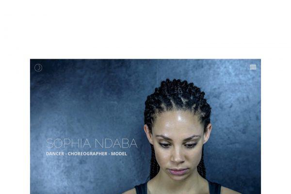 Web personal de la bailarina Sophia Ndaba www.sophiandaba.com