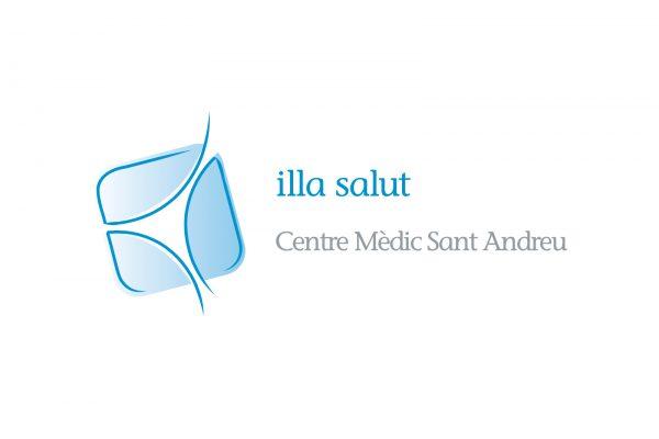 Imagen corporativa del la Illa de Salut i el Centre Mèdic Sant Andreu